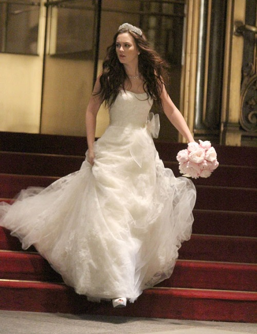 Leighton Meester u seriji Tračerica