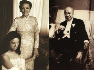 Vera Wang s roditeljima