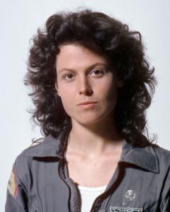 Kao Ellen Ripley u Alienu iz 1979.