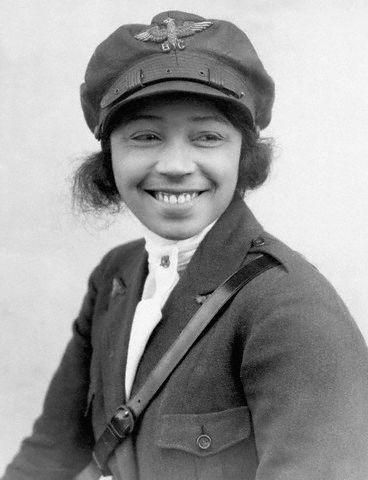 24 Jan 1923 --- 1/24/1923- Photographic portrait of Bessie Coleman, first black woman aviatrix.  BPA2# 364 --- Image by © Underwood & Underwood/CORBIS